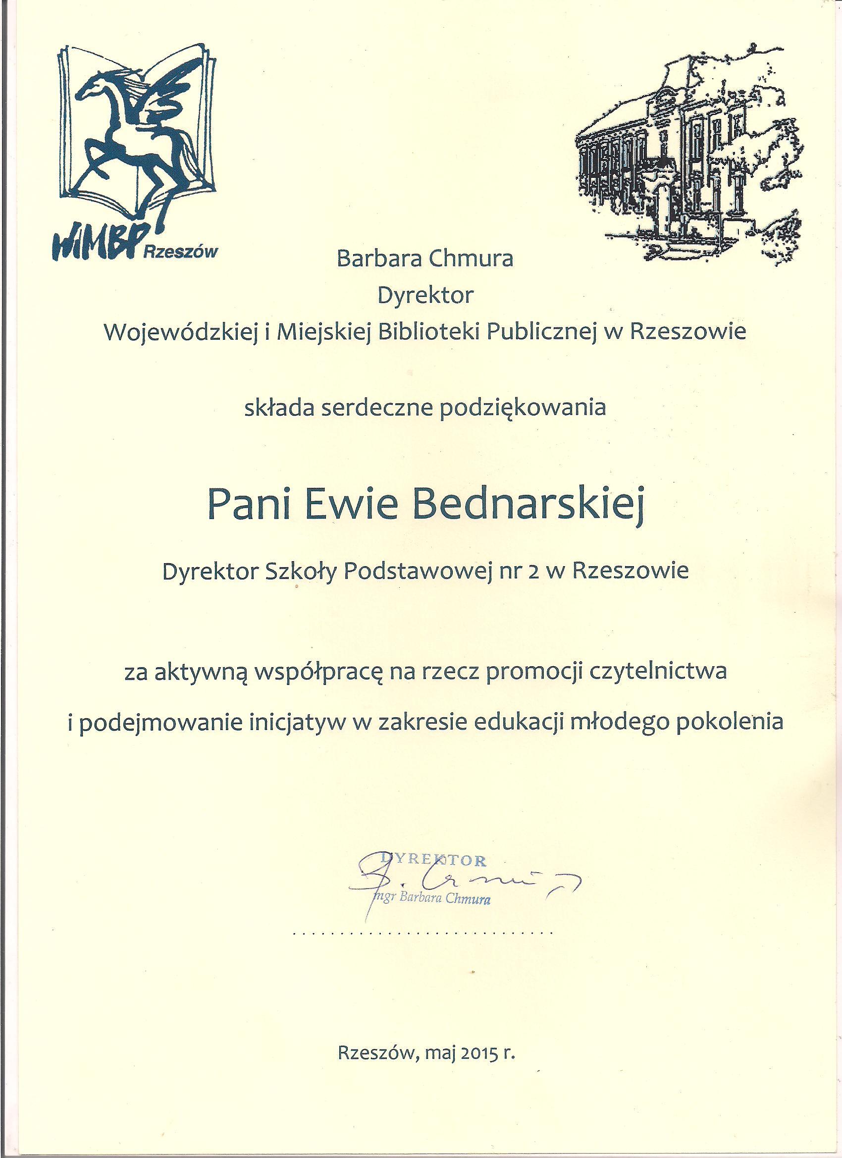 Certyfikaty I Podziękowania