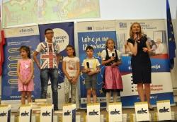 Uczniowie klas Ia i IIIb świętowali Dzień Europy-1