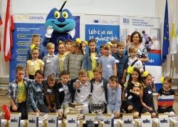 Uczniowie klas Ia i IIIb świętowali Dzień Europy-7